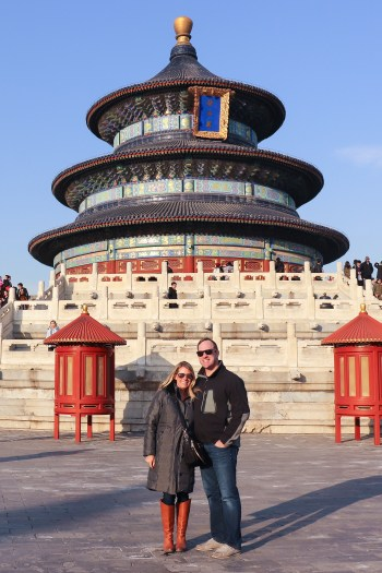 The Temple of Heaven was amazing