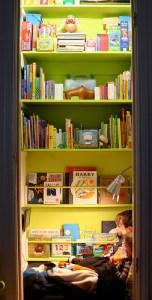 closet reading nooks