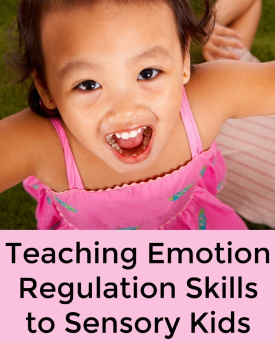 Teaching Emotion Regulation Skills to Sensory Kids