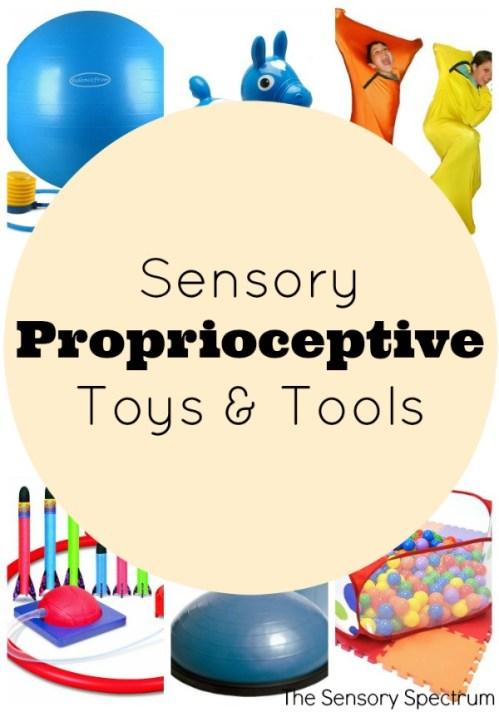 Sensory Proprioception Toys & Tools | The Sensory Spectrum