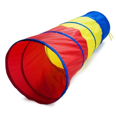 Multi-Color Children's Exploration Pop-Up Tunnel (Gross Motor Toys)