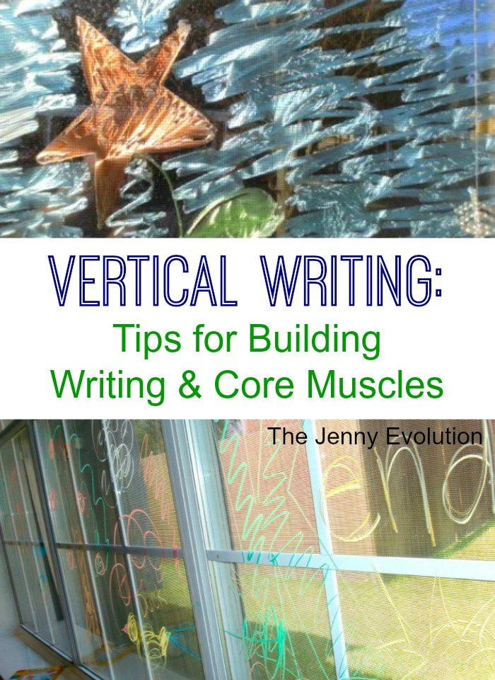 Vertical Writing Builds Core Muscles