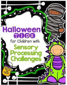 Halloween Tips for Children with Sensory Processing Challenges