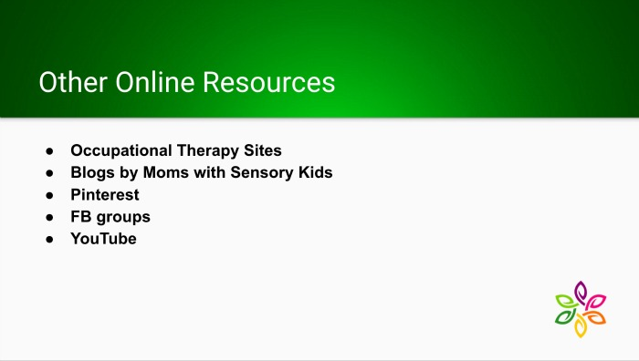 New to Sensory Slide 7