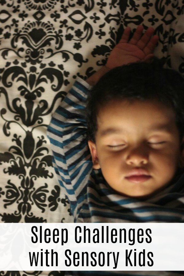 Sleep Challenges with Sensory Kids | Mommy Evolution