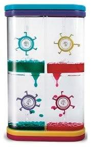 4 Wheel Color Drop Liquid Fun (Visual Toy)
