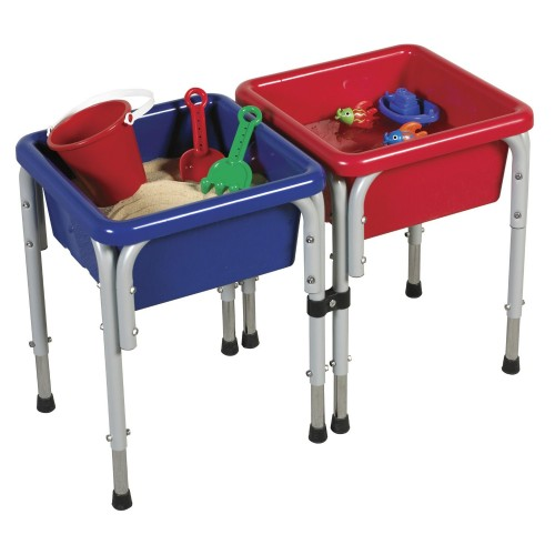 ECR4Kids Sand and Water Play Table with Lids (Tactile Toys)