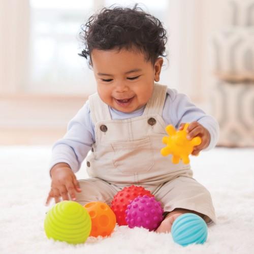 Infantino Textured Multi Ball Set (Tactile Toys)