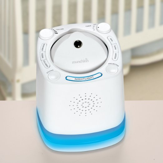 Munchkin Nursery Projector and Sound System (Auditory Sensory Tools)