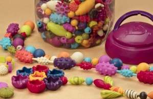 Snap Together Jewelry – B. Pop-Arty Beads (Fine Motor Toys)