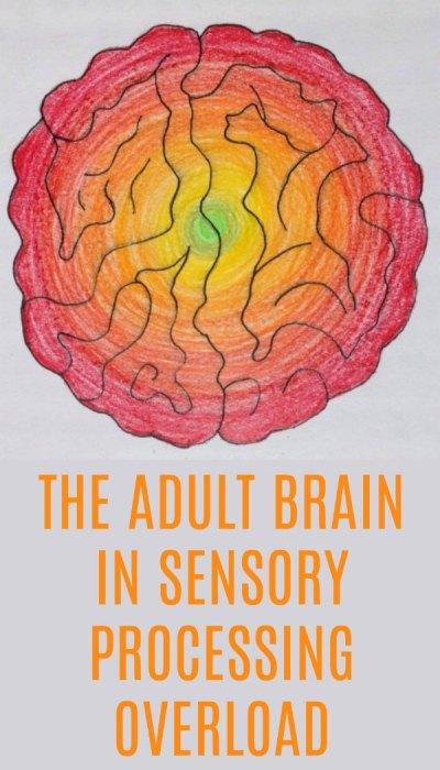 The Burning Brain: The Adult Brain on Sensory Processing Overload