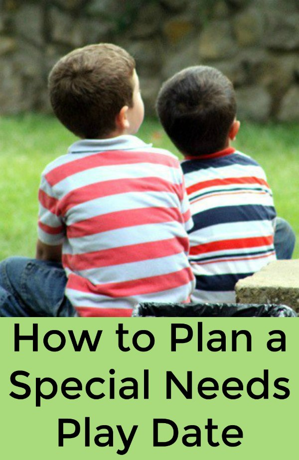 How to Plan a Special Needs Play Date