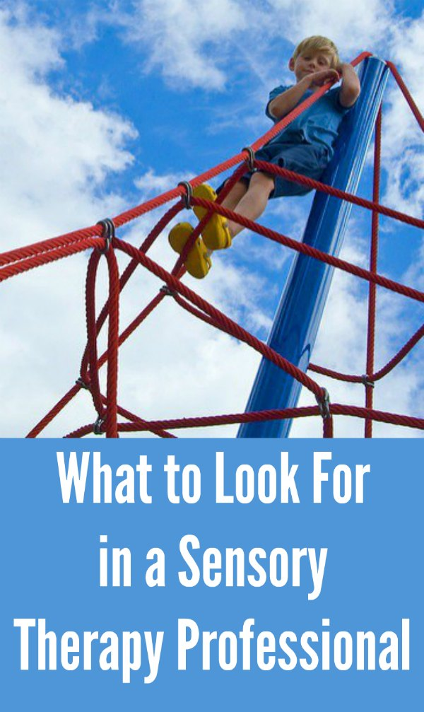What to Look For in a Sensory Therapy Professional