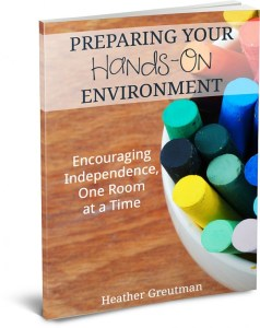 How to Encourage an Independent Child and Hands-On Environment