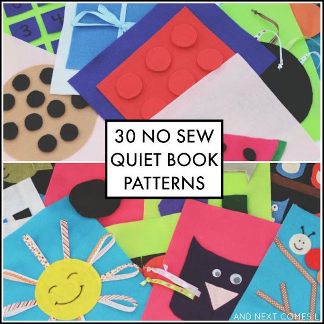 No Sew Quiet Books The Sensory Spectrum