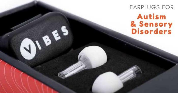 Vibes Earplugs for Kids Sensitive to Sound | The Sensory