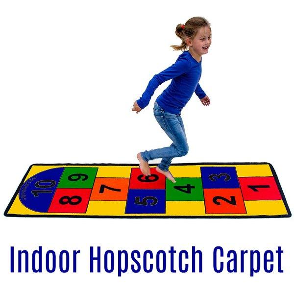 Indoor Hopscotch Carpet (Proprioception)
