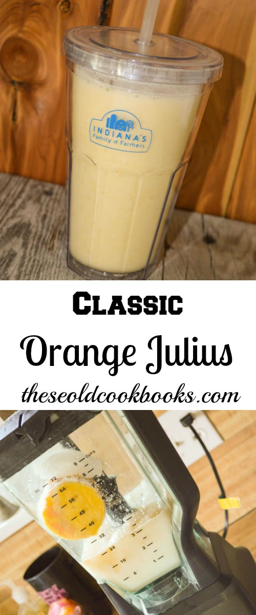 This Classic Orange Julius is an easy and kid-friendly smoothie recipe perfect for a hot, summer day.