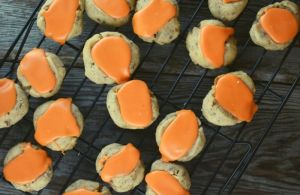 Iced Thumbprint Cookies are easy to make, taste great and are the perfect addition to the dessert table at any celebration.
