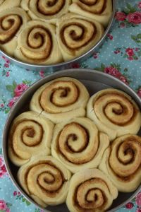 For a homemade yeast roll, these Cake Mix Cinnamon Rolls are relatively quick to make and the result is a super soft cinnamon roll. Top these homemade sweet rolls with a cream cheese frosting for a delicious breakfast, brunch or afternoon snack.