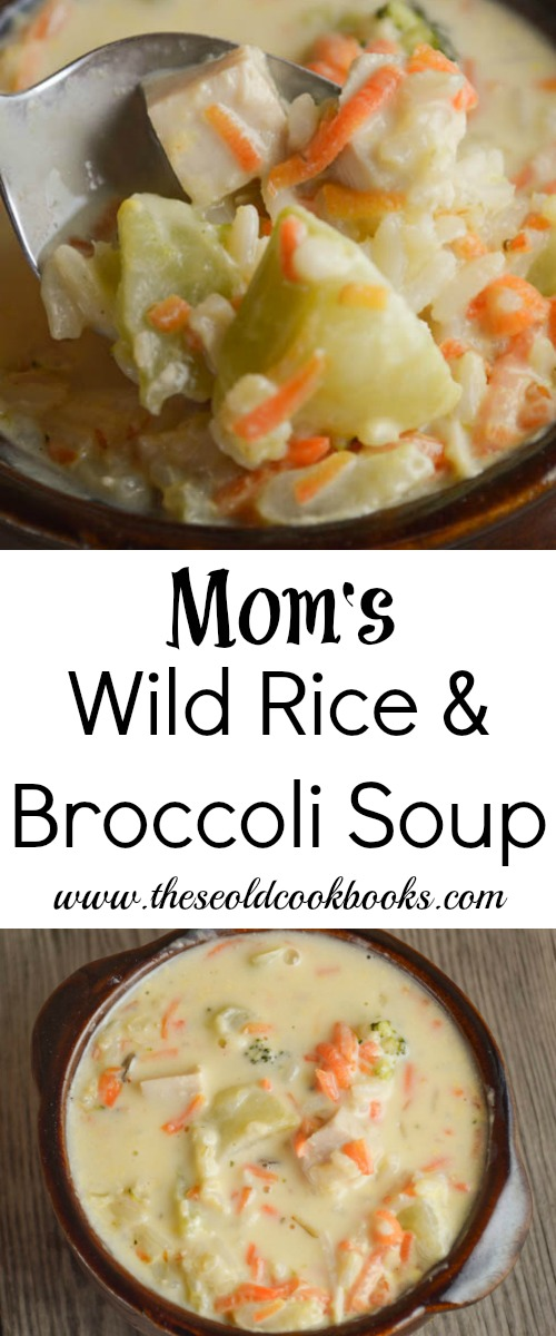 If you need an easy dinner option, give Mom's Wild Rice and Broccoli Soup a try. It is full of flavor and quick to put together for a family-pleasing meal.