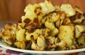 Sometimes we all just need an easy side dish that is really quick to make, and this Easy Roasted Cauliflower fits the bill perfectly. The trick to this dish is really in the roasting. The cauliflower needs plenty of time in the oven and you flip it several times during the cooking process.