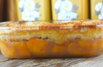 This Peach Batter Cake recipe is super easy summer peach cake to make with either fresh or canned peaches and has a decadent crust that will have everyone asking for seconds.