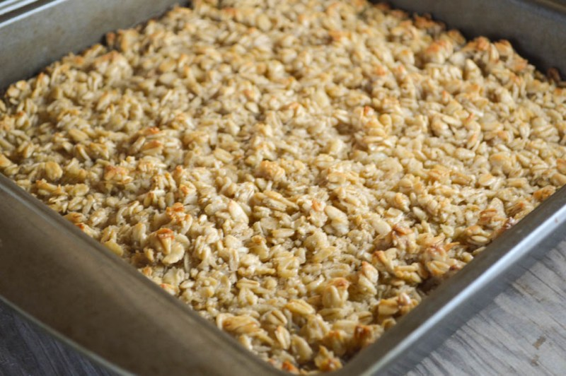 Put this Baked Oatmeal together the night before and pull it out of the refrigerator and bake for a warm, delicious breakfast the entire family will enjoy.