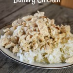 Instant Pot Buttery Chicken is a quick and easy way to fix flavorful chicken breasts that are perfect served over rice or noodles.