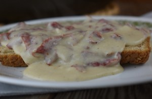 Easy Chipped Beef Gravy is an old-fashioned recipe that goes by many different names, including S.O.S. The dish uses dried beef and is usually served over toast. This old-fashioned dish is fast and kid-friendly dinner option.