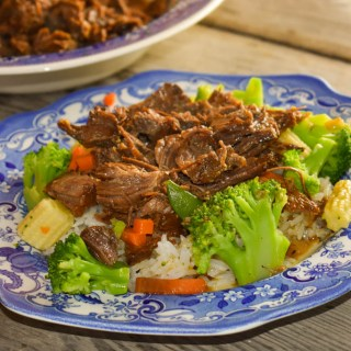Instant Pot Hawaiian Beef is full of flavor and perfect served with steamed vegetables and rice. The best part of this dish is that it takes a fraction of the time in the electric pressure cooker rather than in the oven.