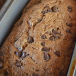 The smell of Mom's Perfect Chocolate Chip Zucchini Bread baking, especially the cinnamon aroma, is delightful, and takes us right back to our childhood.