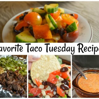 Our Favorite Taco Recipes include salads, soups, appetizers and so much more. Taco Tuesday doesn't have to JUST be tacos - or celebrated on Tuesday - to be enjoyed by the whole family.