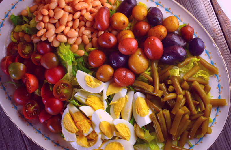 Phenomenal French Dinner Salad With Low Fat Cottage Cheese Dressing Interior Design Ideas Clesiryabchikinfo