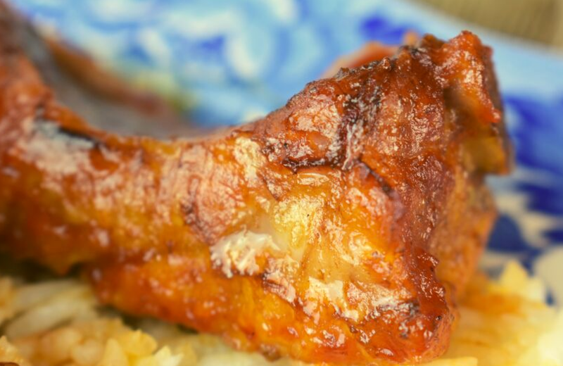 Mom's Oven Baked Pork Rib follows a parboil and bake technique that results in a quick, tender barbecued pork rib. I recommend serving over rice to absorb the finger-licking good sauce.