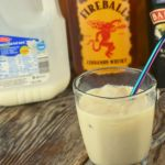 What do you get when you combine Bailey's Irish Cream, Fireball Cinnamon Whisky and milk?  The result is a Cinnamon Toast Crunch Cocktail that will go down smooth as an evening nightcap.