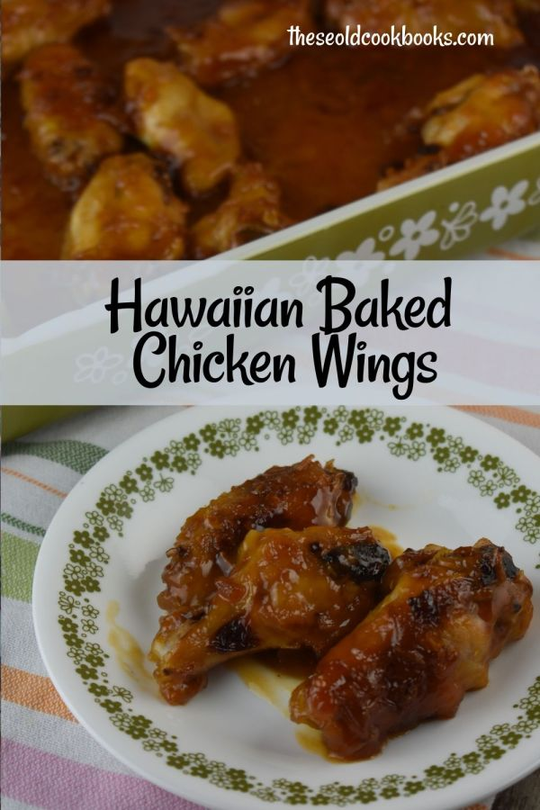 Hawaiian Glazed Chicken is an easy oven-baked recipe using minimal ingredients. Use this sweet, sticky sauce on chicken wings or legs for a family-pleasing meal.