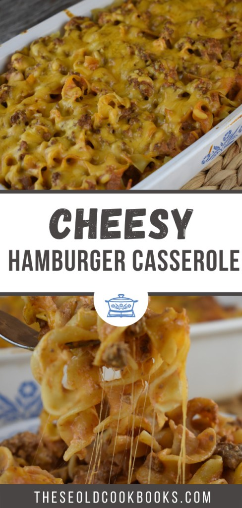 Ground Beef and Noodles Bake has everything kids love---hamburger and egg noodles in a creamy sauce. This easy recipe makes a huge casserole making it the perfect family-friendly dinner recipe.