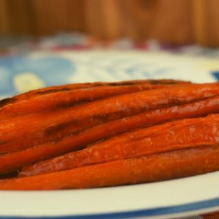 Whole Roasted Carrots with coconut oil, soy sauce, lime juice and sea salt highlights the natural sweetness of carrots. Try adding these to your menu, and hopefully you and your family will fall in love with carrots.