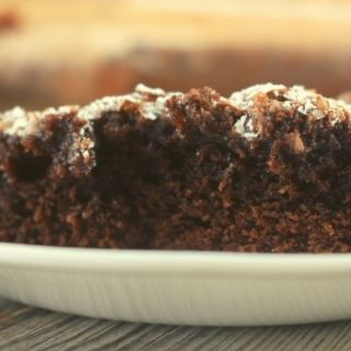 Chocolate Cake Mix Gooey Bars are a chocolate-lovers delight. This six ingredient cake mix recipe has a brownie bottom with an ooey gooey fudge layer on top.