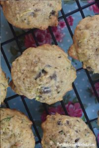 Have a bounty of zucchini? Use it up with a huge batch of Chocolate Chip Zucchini Cookies. These soft, moist cookies are a hit with kids, and they won't even realize they are eating their veggies!