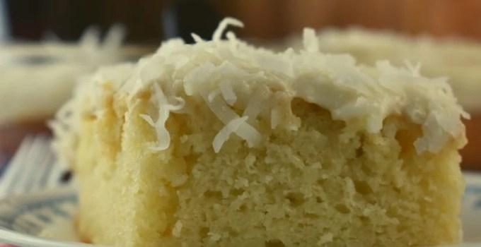 9 x 13 Sour Cream Coconut Cake