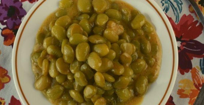 Baked Lima Bean Casserole