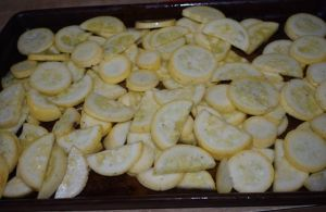 Wondering how to use up yellow squash? Pan Roasted Summer Squash is healthy and delicious with only five total ingredients. The result is a sweet side dish that meets a keto, low carb and clean eating diet.