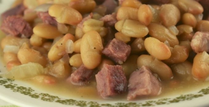 Ham and Beans with Randall Beans – A Leftover Ham Recipe