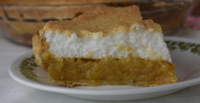 Butterscotch Sour Cream Pie – An Old Fashioned Butterscotch Pie Recipe