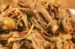 Looking for a slow cooker pulled pork recipe? The first step is to make a pulled pork spice rub to add a punch of flavor, and this recipe is simple as can be with just brown sugar, paprika, chili powder, dry mustard, black pepper and garlic salt.