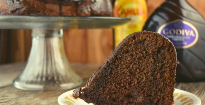 Chocolate Kahlua Bundt Cake – A Black Russian Cake