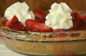 Grandma's Strawberry Pie is an old fashioned strawberry pie recipe using fresh strawberries. Learn how to make strawberry pie filling from scratch with this easy recipe.