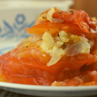 Southern Scalloped Tomatoes is a special because it's a microwave Scalloped Tomatoes Recipe. Adding Parmesan cheese to this fresh tomato casserole recipes gives a delicious spin on the classic stewed tomato recipe.